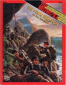 Top Secret/S.I.: The Final Weapon Role Playing - USED