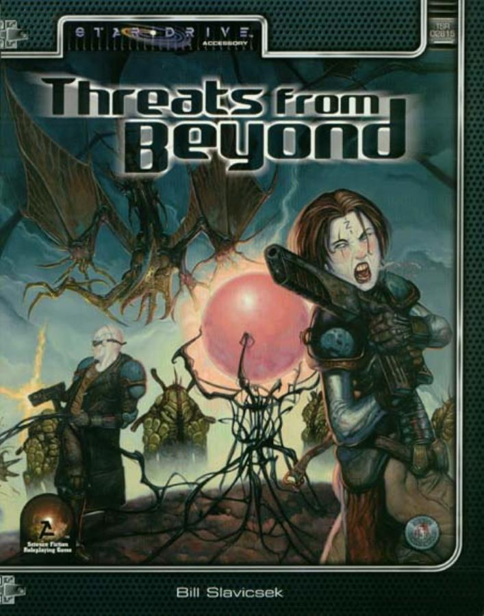 Alternity: Star Drive: Threats From Beyond - Used