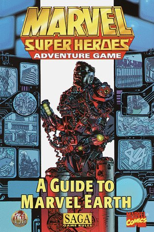 Marvel Super Heroes Adventure Game: A Guide to Marvel Earth - Used