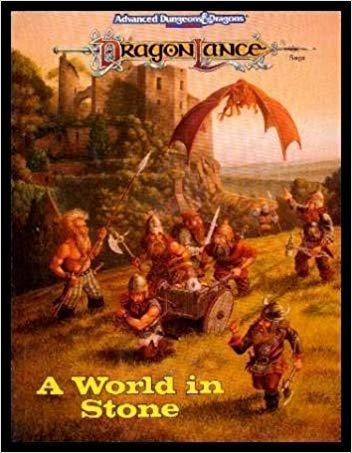 Dungeons and Dragons 2nd Ed: DragonLance: Dwarven Kingdoms of Krynn Box Set - USED
