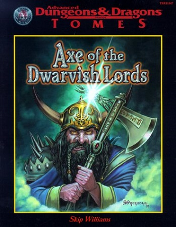 Dungeons and Dragons 2nd Edition: Axe of the Dwarvish Lords - Used