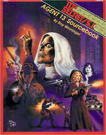 Top Secret/S.I.: Agent 13 Sourcebook Role Playing - USED