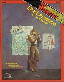 Top Secret/S.I.: F.R.E.E.America Role Playing - USED