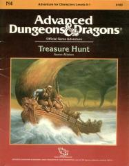 Dungeons and Dragons 1st ed: Treasure Hunt - Used