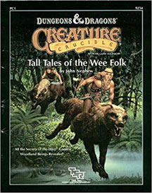 Dungeons and Dragons 2nd Ed: Creature Crucible: Tall Tales of the Wee Folk - USED