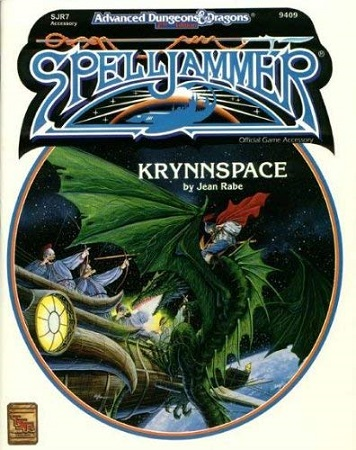 Dungeons and Dragons 2nd Edition: Spelljammer: Krynnspace - Used
