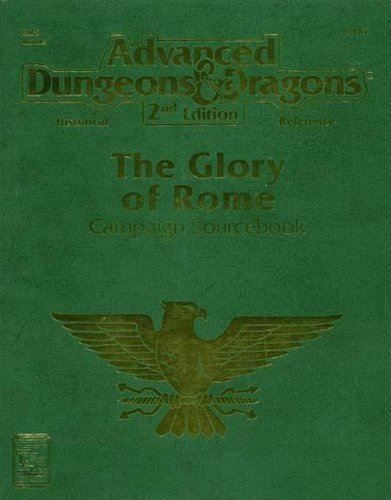Dungeons and Dragons 2nd ed: The Glory of Rome - Used