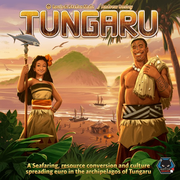 Tungaru Board Game - USED - By Seller No: 5880 Adam Hill