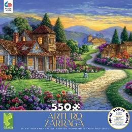 Arturo Zarraga: Twilight at the End of the Day - 550 Pieces