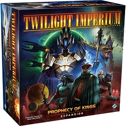 Twilight Imperium Fourth Edition: Prophecy of Kings Expansion