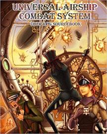 Uber RPG Sourcebook: Universal Airship Combat System - USED