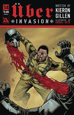 Uber Invasion no. 14 (2016 Series) (Variant Cover) (MR)
