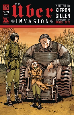 Uber Invasion no. 15 (2016 Series) (MR)