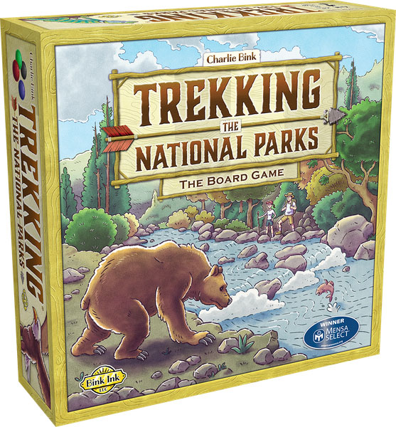 Trekking the National Parks Family Board Game (2nd Ed)