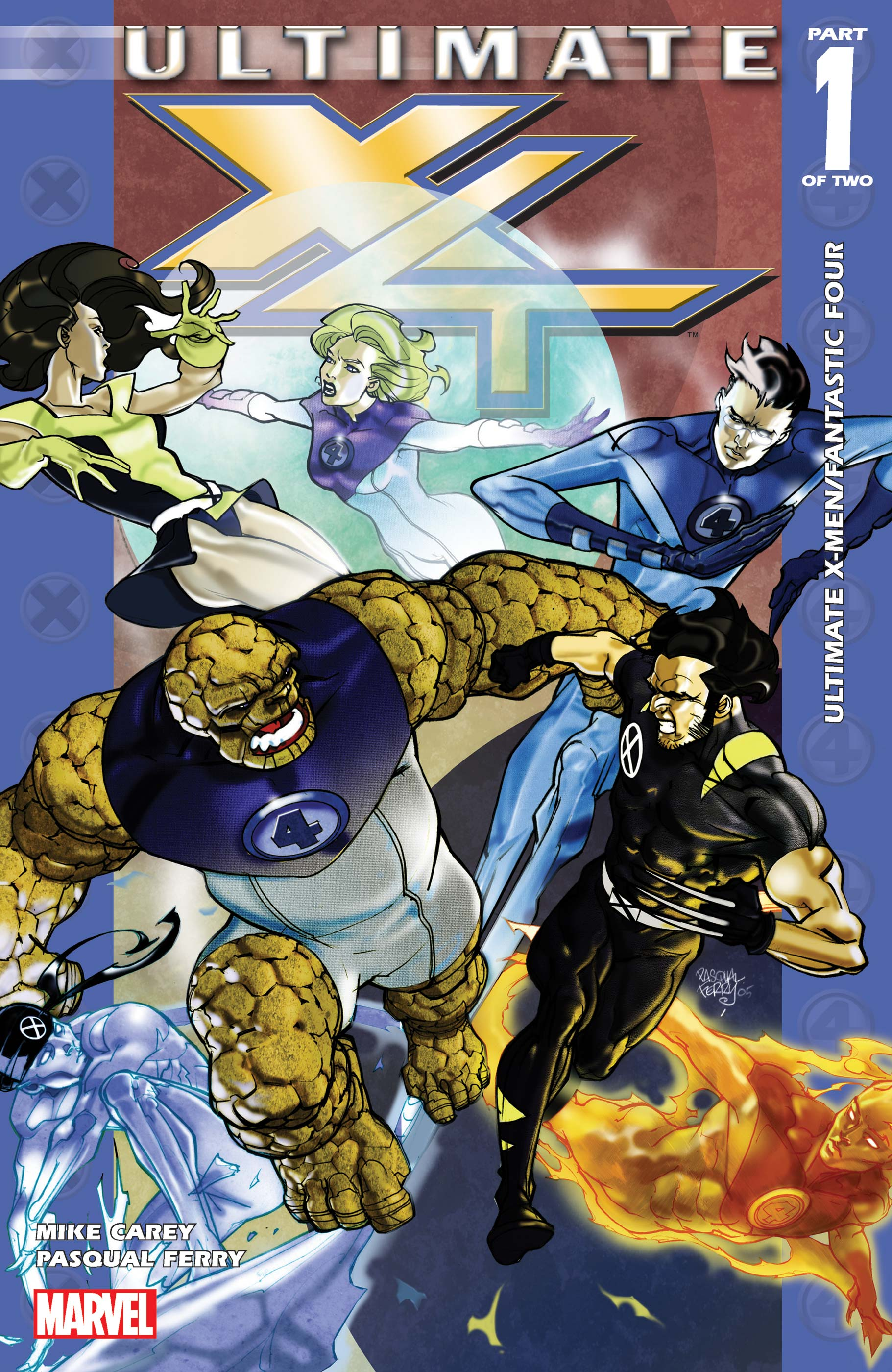 Ultimate X-Men Fantastic Four (2005) Complete Bundle - Used