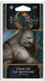 Lord of the Rings LCG: Under the Ash Mountains Adventure Pack