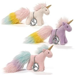 Plushie: Unicorn Rainbow Pom Tails