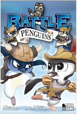 Battle Penguins Card Game