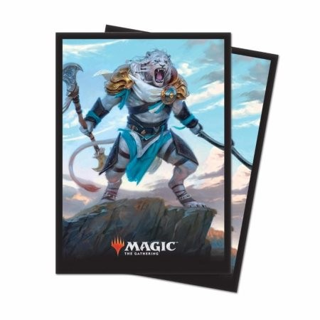 Deck Protector: Magic the Gathering: Core 2019 Ajani Adversary of Tyrants (80 Sleeves) 86783