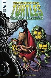 Teenage Mutant Ninja Turtles: Urban Legends no. 25 (2018 Series)