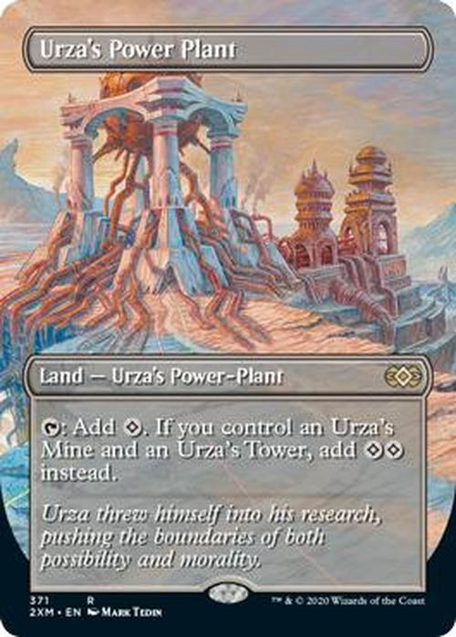 Urza's Power Plant (Double Masters Full Art)