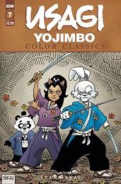Usagi Yojimbo Color Classics no. 7 (2020 Series)