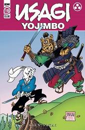 Usagi Yojimbo no. 10 (2019 Series) (Sakai)