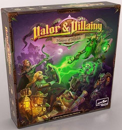 Valor and Villainy: Minions of Mordak Board Game