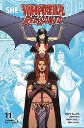Vampirella Red Sonja no. 11 (2019 Series) (E Cover)