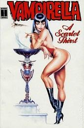Vampirella: A Scarlet Thirst TP- Used