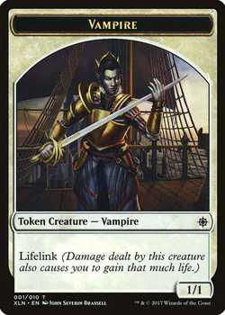 Vampire Token with Lifelink - White - 1/1