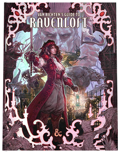 Dungeons and Dragons 5th Ed: Van Richten's Guide to Ravenloft HC (Exclusive Retail Edition)