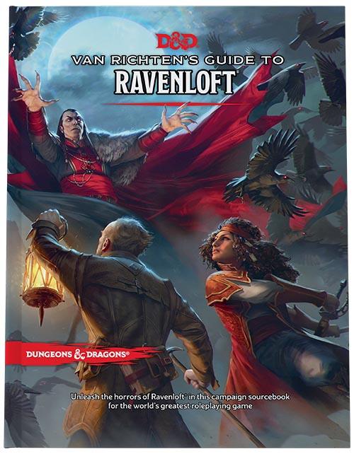 Dungeons and Dragons 5th Ed: Van Richten's Guide to Ravenloft HC (Standard Edition)