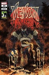 Venom no. 34 (2018 Series) (Superlog Venom-Thing Variant)