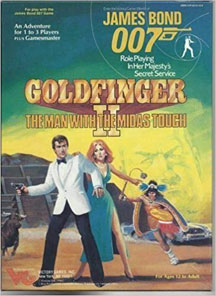 James Bond 007 Role Playing Game: Goldfinger II: the Man with the Midas Touch Box Set - USED