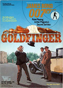 James Bond 007 Role Playing: Goldfinger - USED