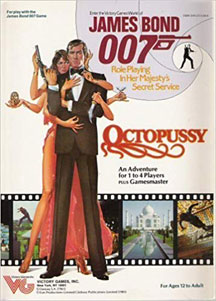 James Bond 007 Role Playing: Octopussy - USED
