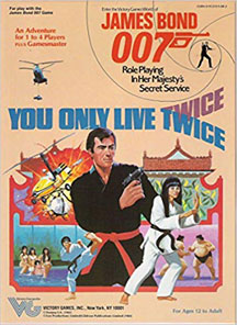 James Bond 007 Role Playing: You Only Live Twice Box Set - USED