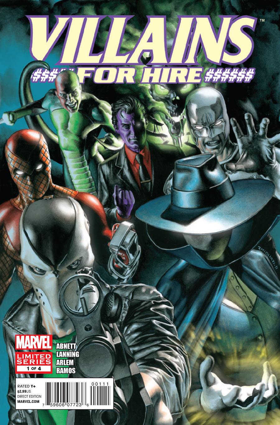 Villains for Hire (2011) Complete Bundle - Used