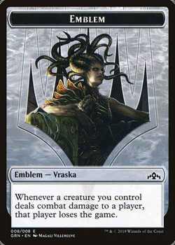 Vraska, Golgari Queen Emblem Token