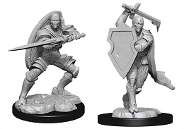 Dungeons and Dragons Nolzurs Marvelous Unpainted Minis Wave 13: Warforged Male Fighter