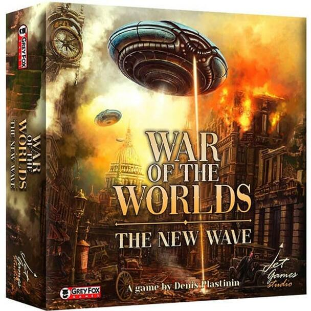 War of the Worlds: The New Wave Board Game