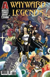 Wayward Legends no. 1 (2020 Series) (Holographic Gold Foil Variant)