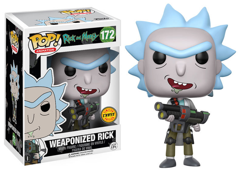 Funko POP: Animation: Rick and Morty: Weaponized Rick (Chase)
