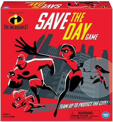 The Incredibles: Save the Day Board Game