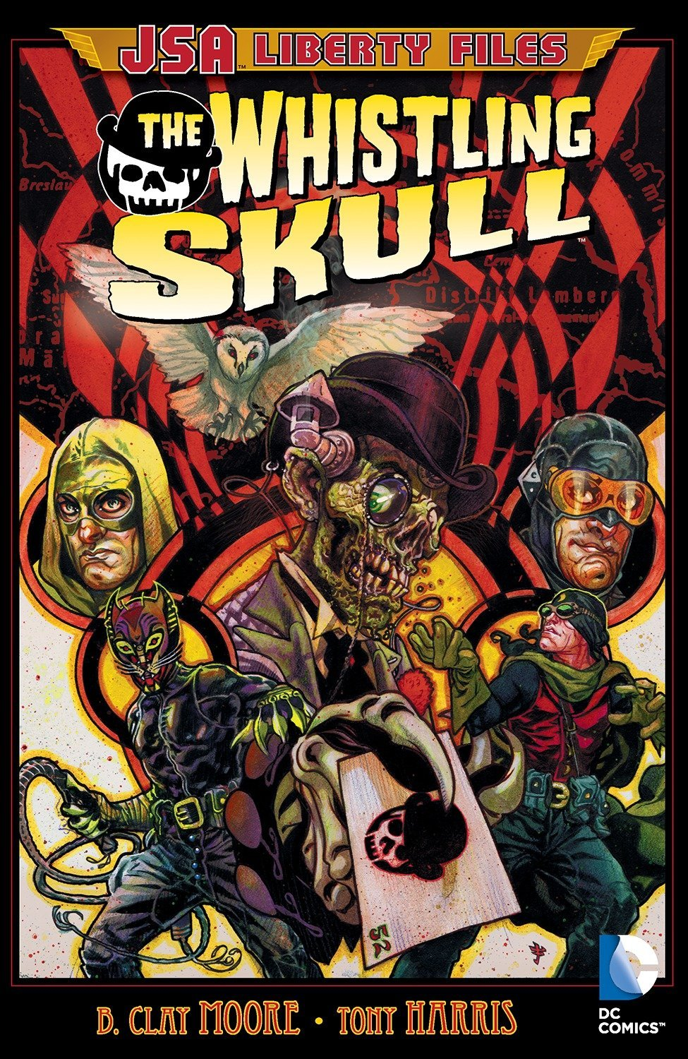 JSA Liberty Files: The Whistling Skull TP - Used