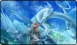 Playmat: White Angel White Dragon