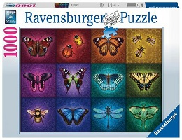 Winged Things Puzzle - 1000 Pieces