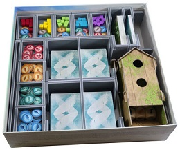 Folded Space: Box Insert: Wingspan and European Expansion