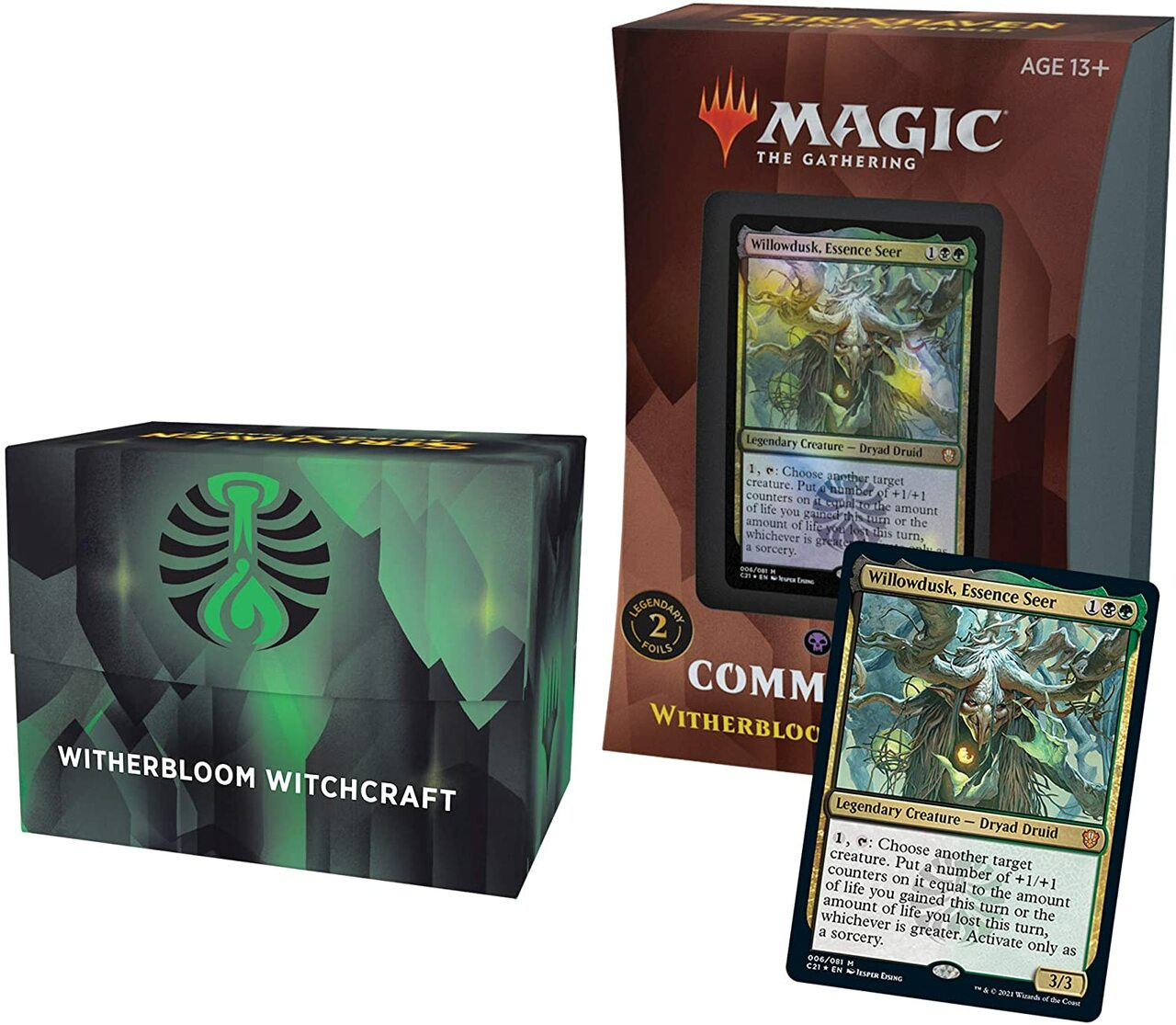 Magic the Gathering: Commander 2021: Witherbloom Witchcraft